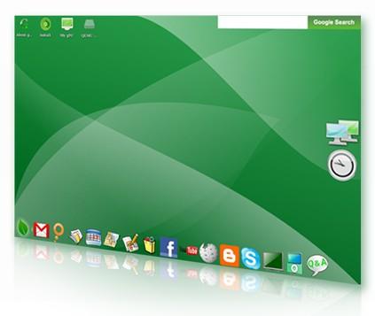 gOS Linux screenshot